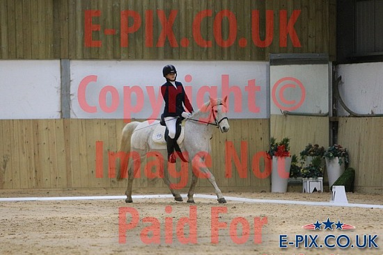 SMP EVENTS - Unaff Dressage - White Horse - 13-12-2020
